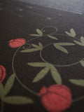 Signature Ketubah Design (Bookcloth) Pomegranates