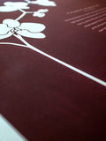 Signature Ketubah Design (Cotton Paper) Orchid Branch