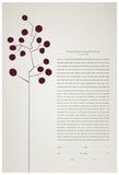Ketubah - Circle Tree