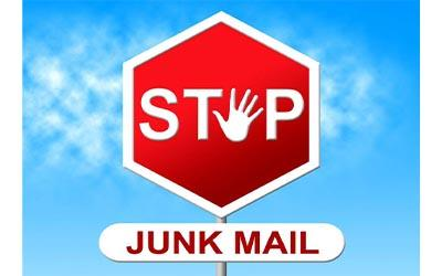 Stop Recycling Junk Mail.