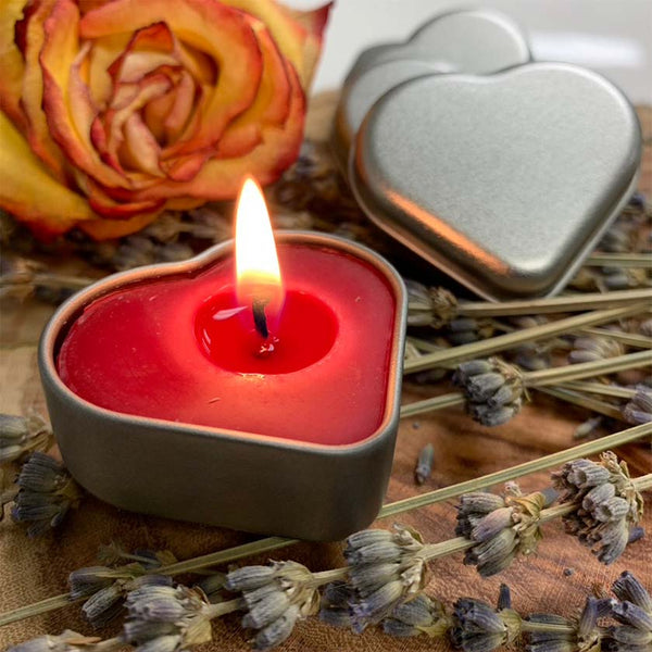 Free Valentine's Candle