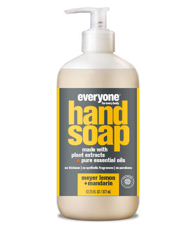 everyone hand soap, meyer lemon + mandarin, 12.75 fl oz.