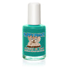 0.5 fl oz green puppy paint nail polish bottle with white lid