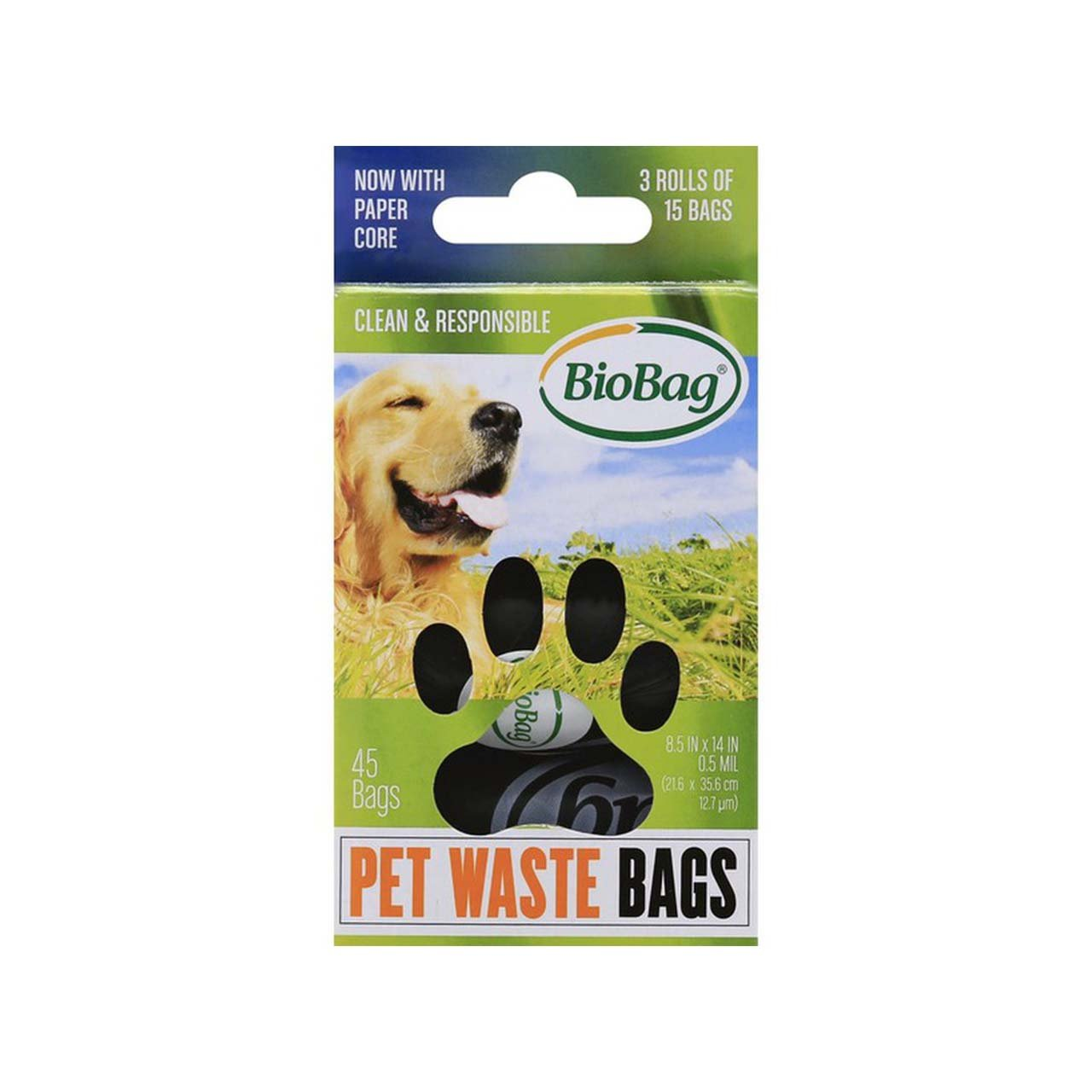 BioBag® Pet Waste Bags — 3 Rolls
