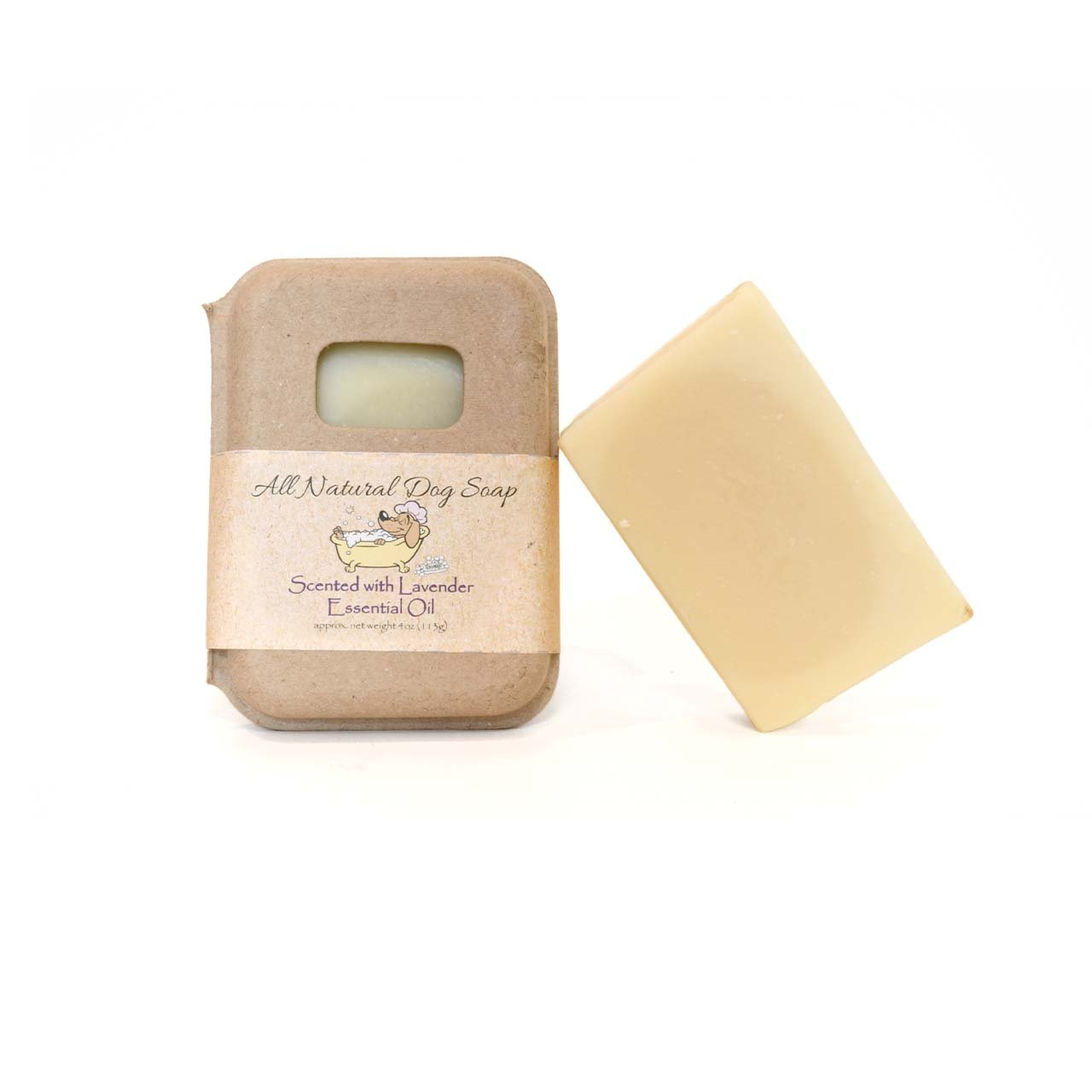 All Natural Dog Soap Shampoo Bar