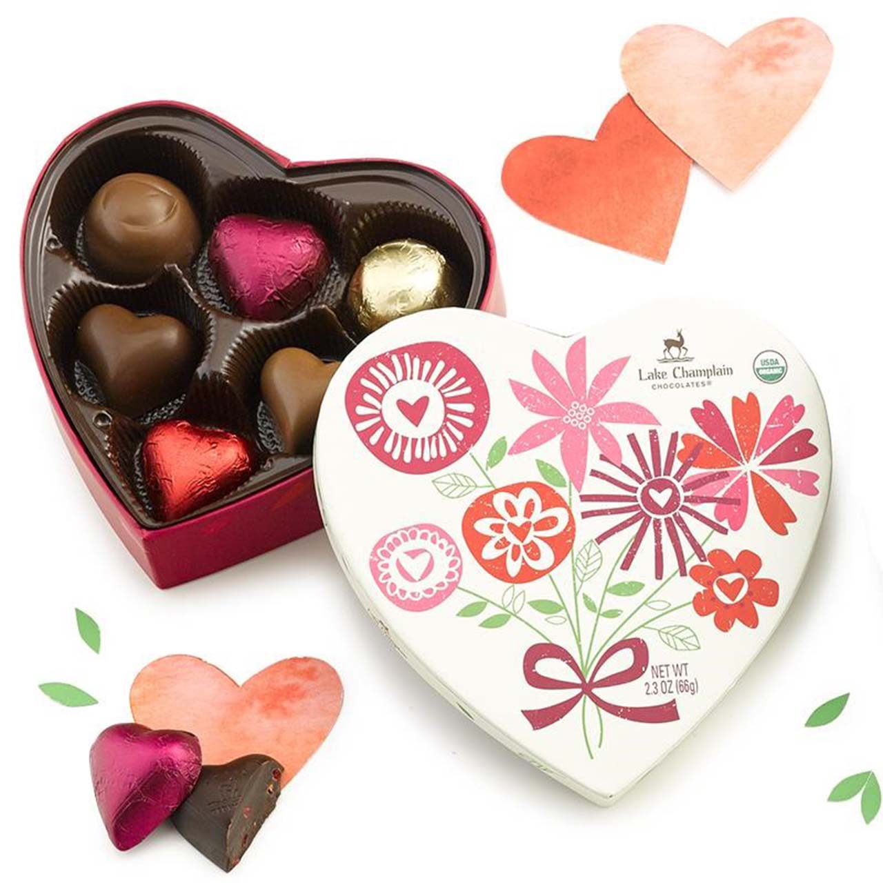 Celebration Organic Heart Box