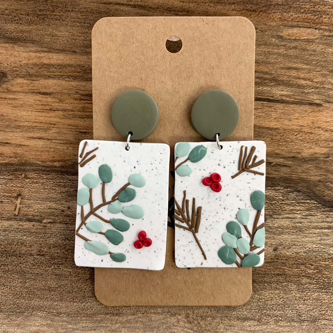 Winter Blossoms Earrings — 3 Styles
