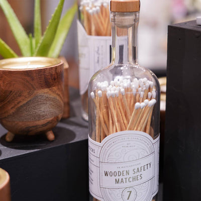 "7"" Matchsticks In a Bottle"
