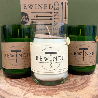 Rewined® Soy Candle — Rosé