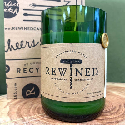 Rewined® Soy Candle — Spiked Cider