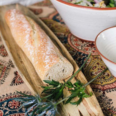 Hand-Crafted French Bread Board
