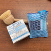 Reusable eco sponges, Mildew Resistant, Washable, Hypoallergenic, and made in the USA. MultiBlue