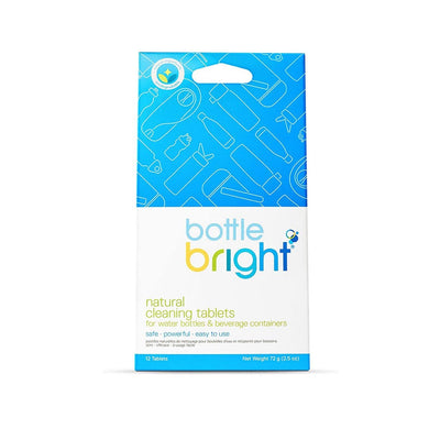 photo of bottle bright package of 12 tablets
