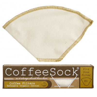 Reusable, organic cotton coffee filters made in the USA. #4