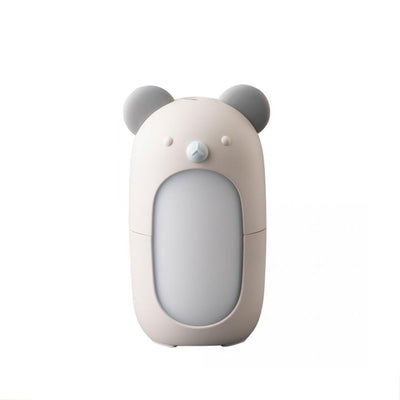 bear shaped diffuser, grey and white