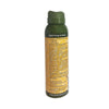 Army Green and yellow Kids insect natural repellent, deet free spray bottle. Directions and Warnings displayed on back of bottle