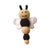 Busy Bee Baby Rattle — Handmade