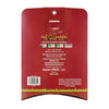 back view of Red Cat waste bag container, displayed are directions and specifications of product inside container