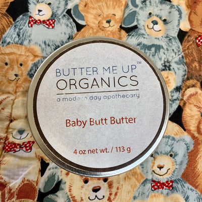 4oz. circular tin of baby butt butter