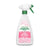 pink floral design spray bottle, 16.9 fl oz, laundry pre spray