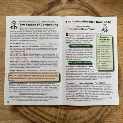 The worlds most popular compost guide, Home Composting made easy. By C.Forrest McDowell & Tricia Clark-McDowell Paperback 31 pages.