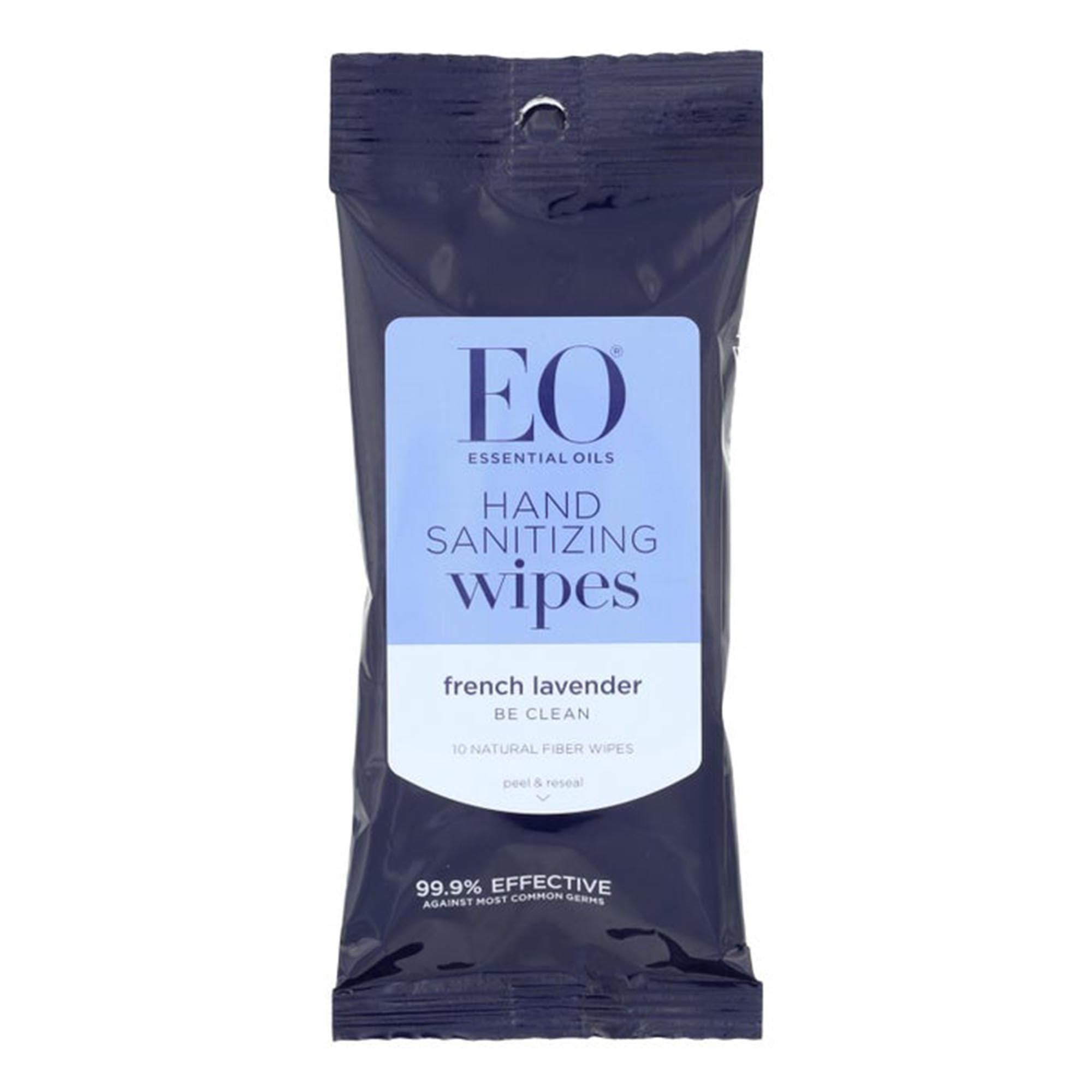 Hand Sanitizer Wipes — Lavender