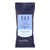 10 natural fiber wipes in plastic blue EO hand sanitizing wipes package