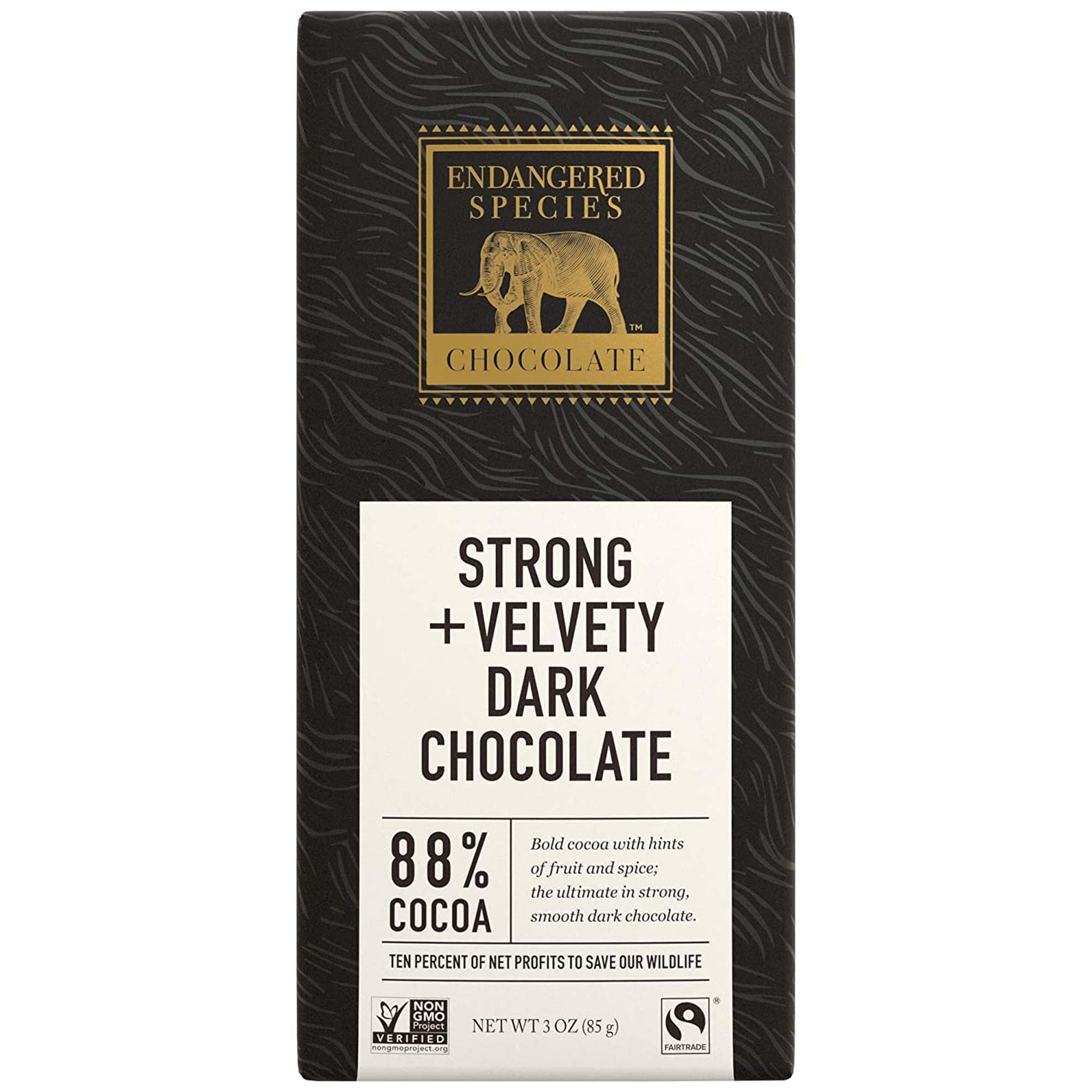 Endangered Species Dark Chocolate Bars