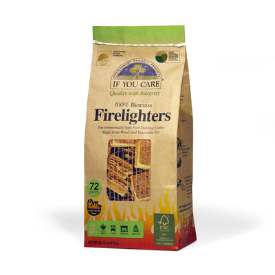 firelighters in package, 72 pieces, Net WT 28.28 oz