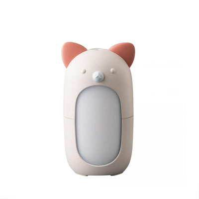 cat shaped diffuser, red and white