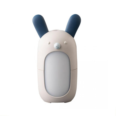 rabbit shaped diffuser, blue and white