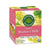 pink box containing 16 wrapped tea bags. nt wt .99 oz. usda organic seal