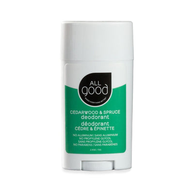 All Good Deodorant — Unscented or Cedarwood & Spruce