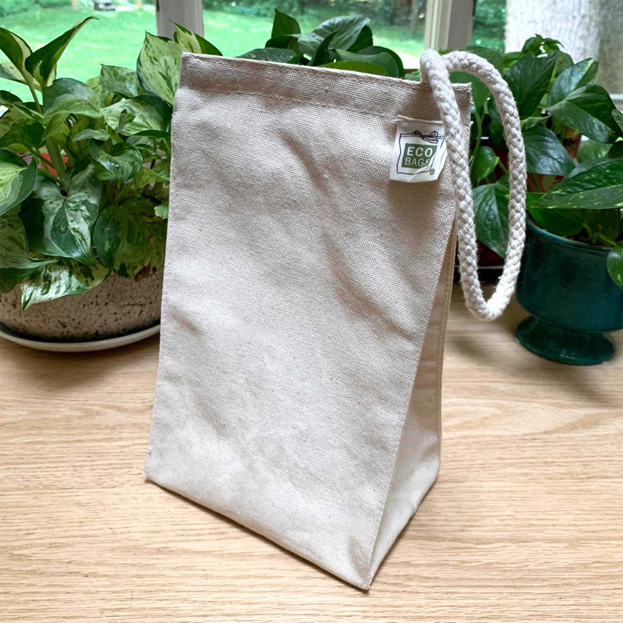 Recycled Cotton Reusable Lunch Bag
