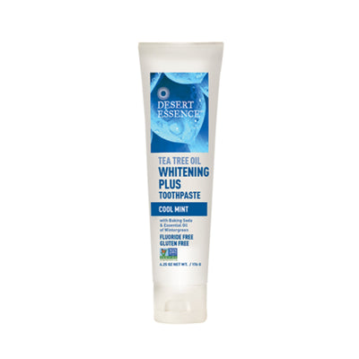 6.25 oz blue and white plastic squeeze tube, cool mint toothpaste