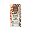 endangered species 3 oz almonds sea salt + dark chocolate bar , featuring endangered species logo with golden elephant