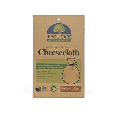 "cheese cloth in package, 2 square yards (72""x 36"")"