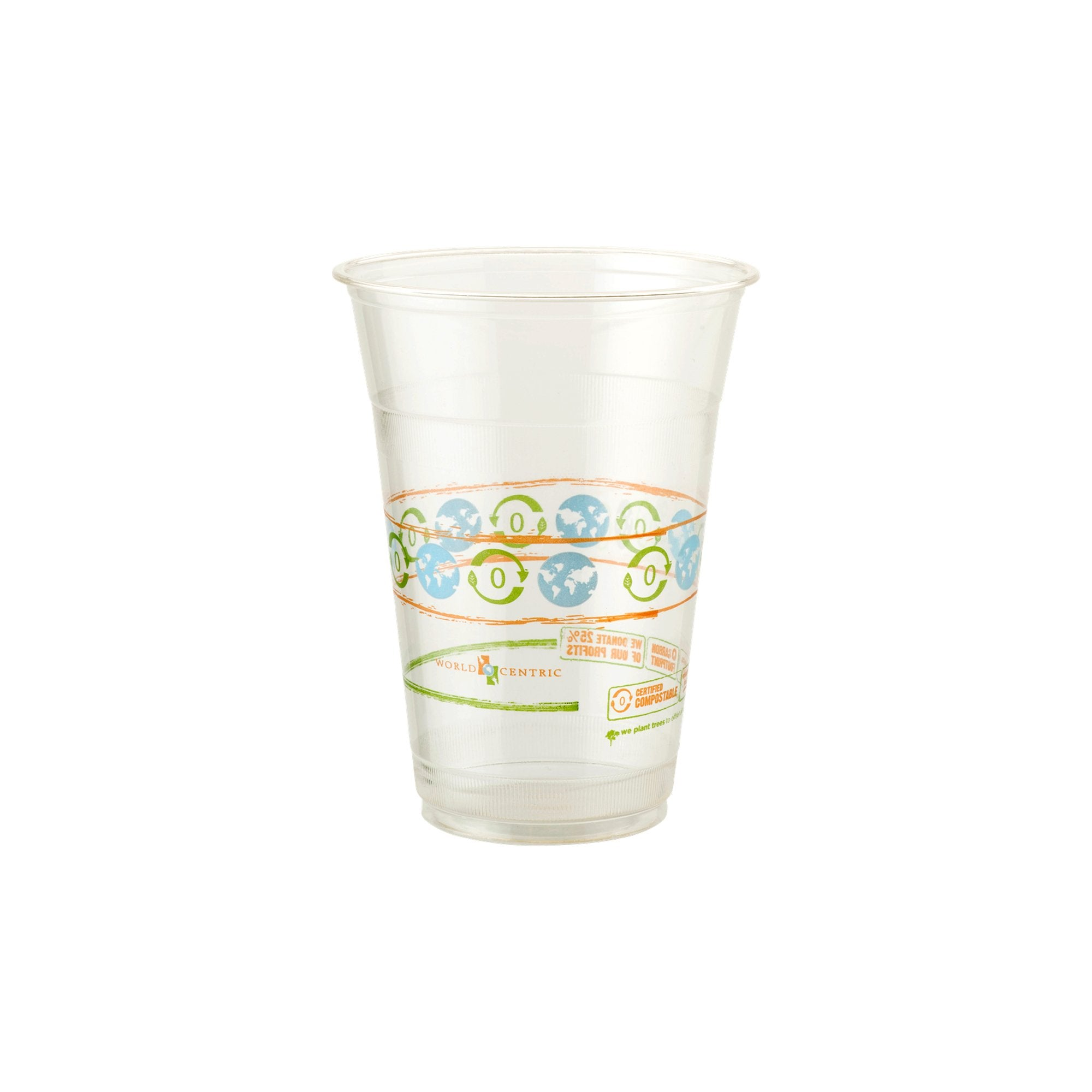 Compostable Clear Cups 16oz.