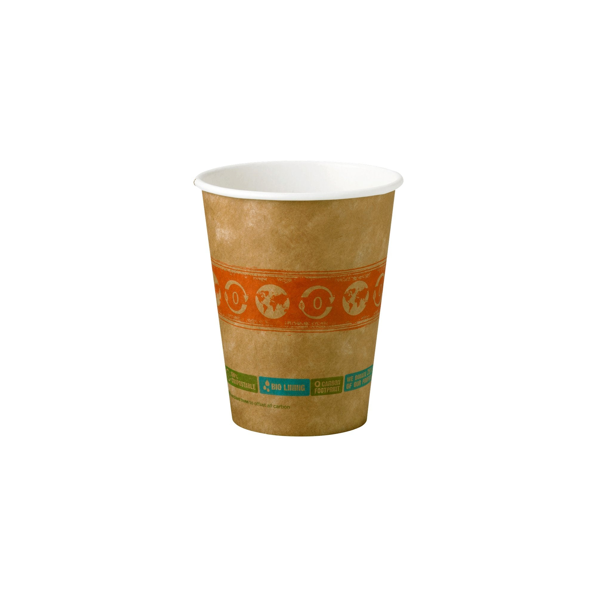 Compostable Hot Paper Cups 12 oz