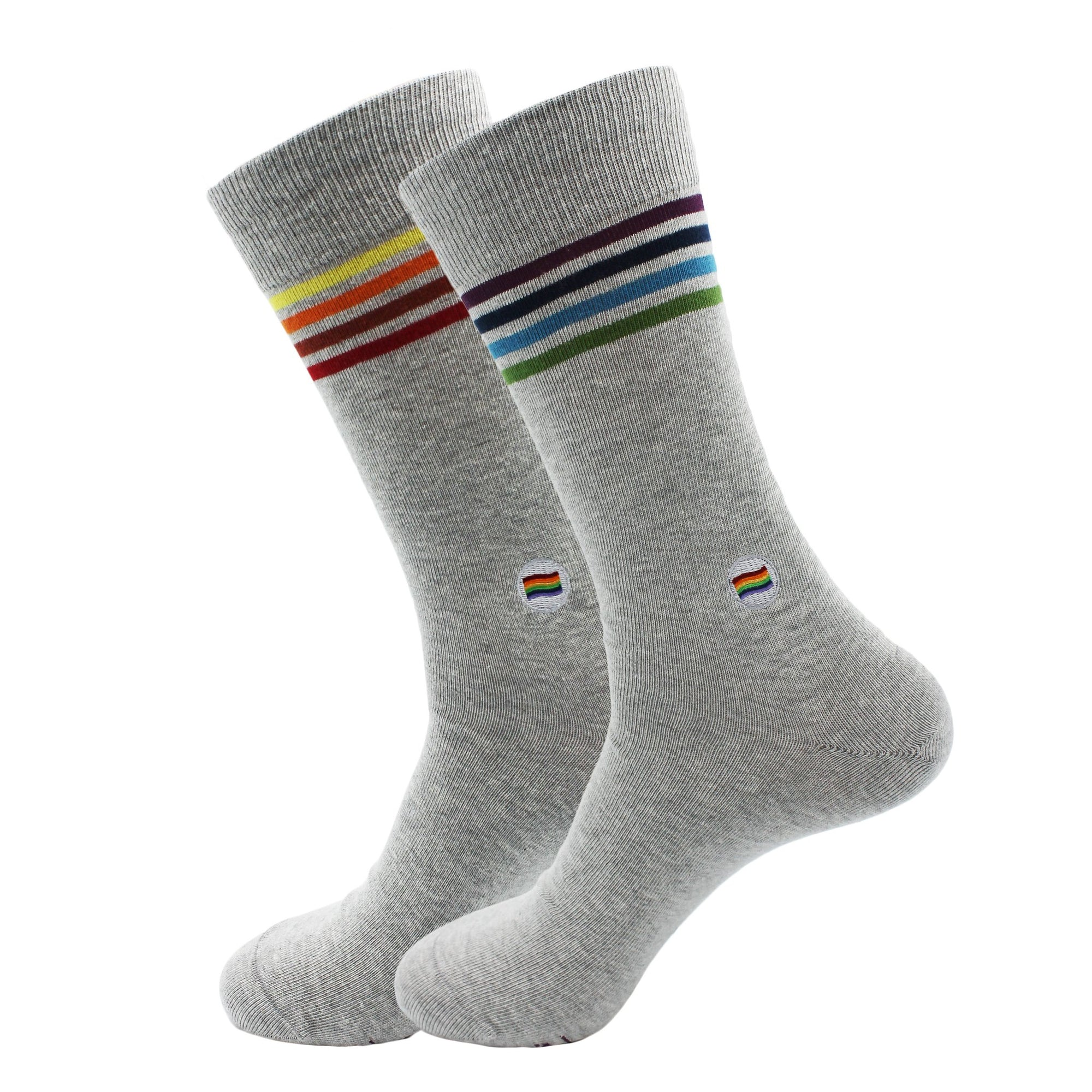 Organic Socks that Save LGBTQ Lives — Grey