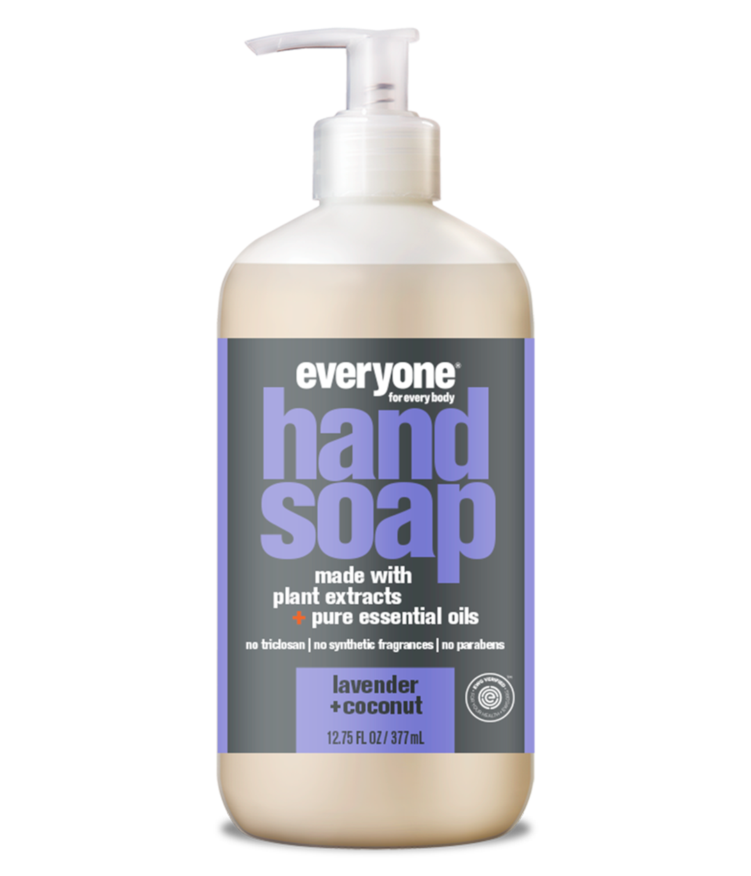 everyone hand soap, lavender + coconut, 12.75 fl oz.