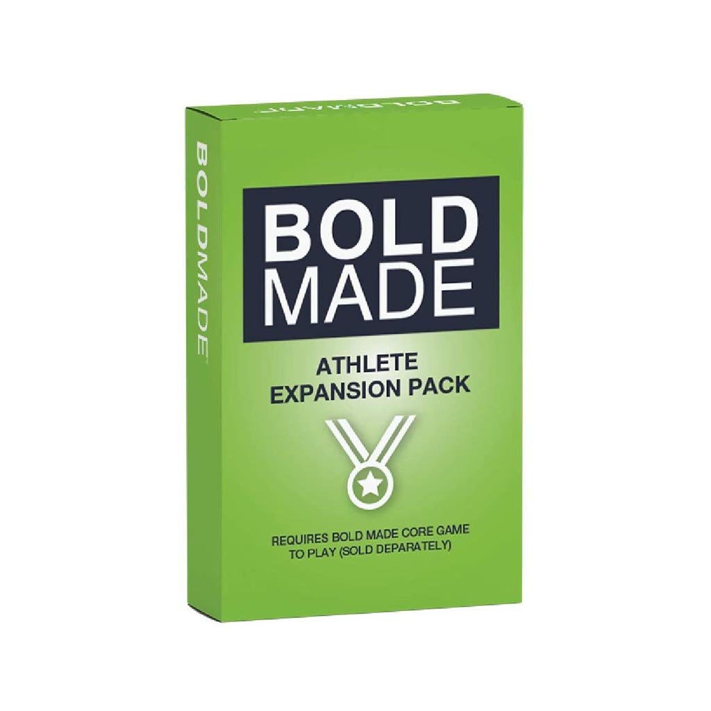 Bold Made™ — Athlete Expansion Pack