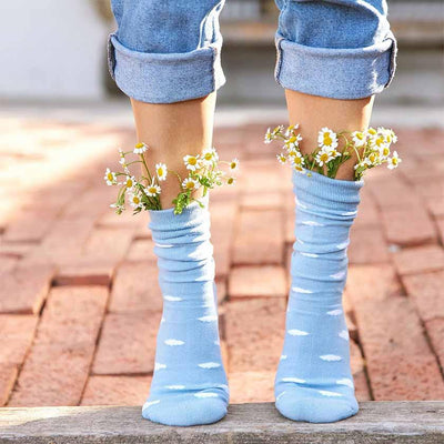 Organic Socks that Support Mental Health — Fluffy Clouds