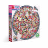 Women March! — 500 Piece Round Puzzle