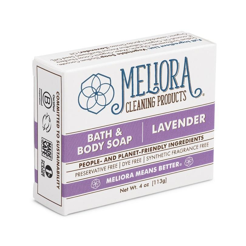 Bath & Body Soap Bar — Lavender