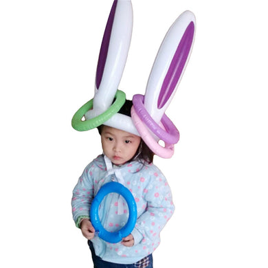 Bunny Ears Ring Toss Game