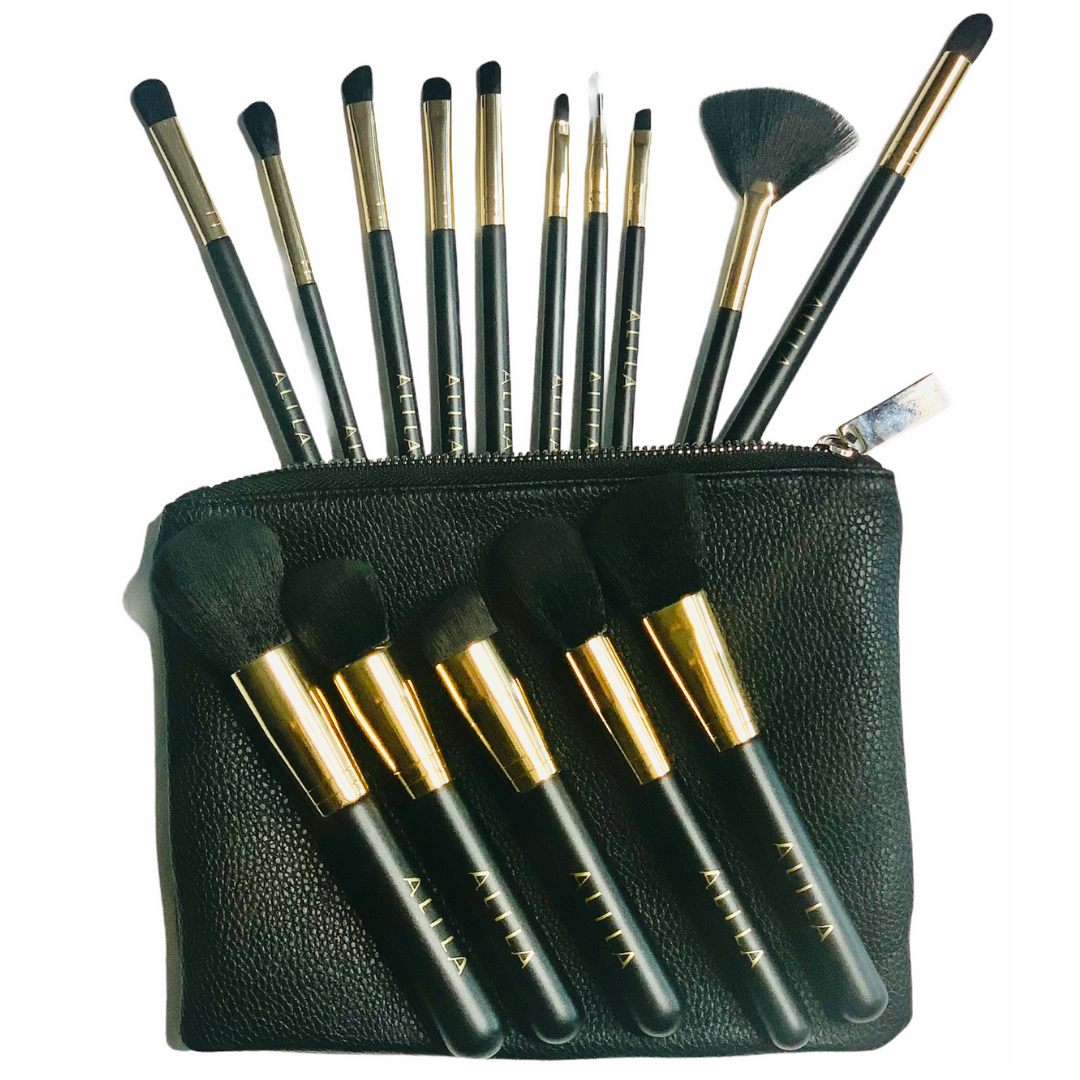 15 Piece Makeup Brush Set
