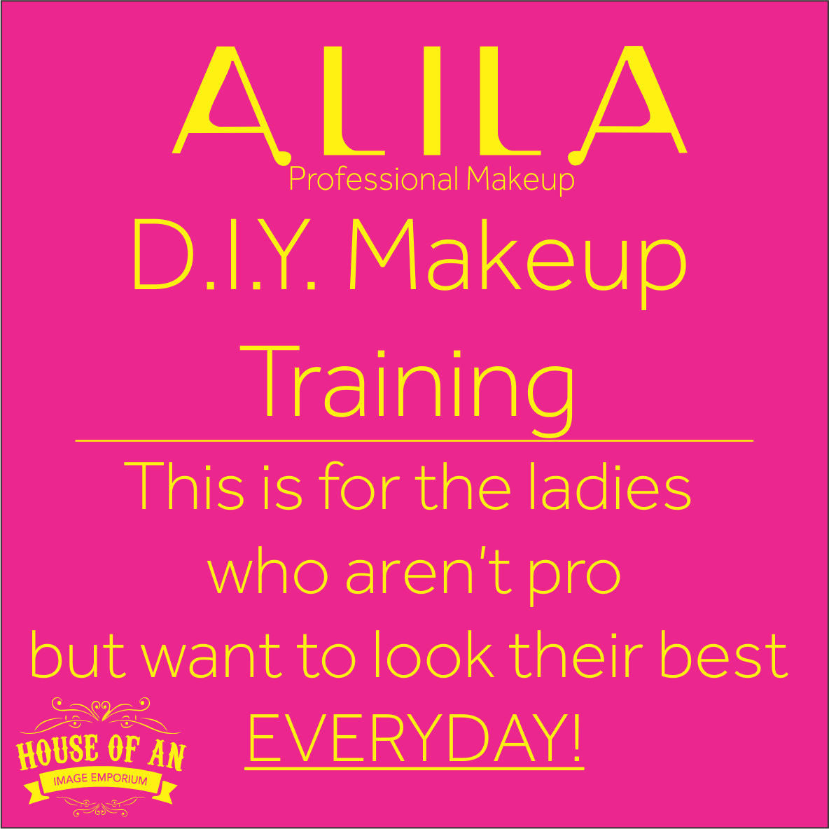 Alila DIY Makeup Training