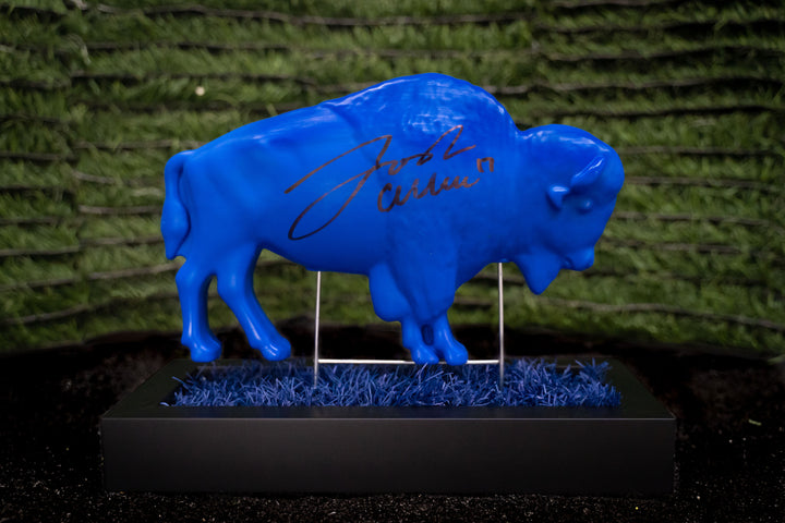 Blue Buffalo Signed by Josh Allen (1 of 5)