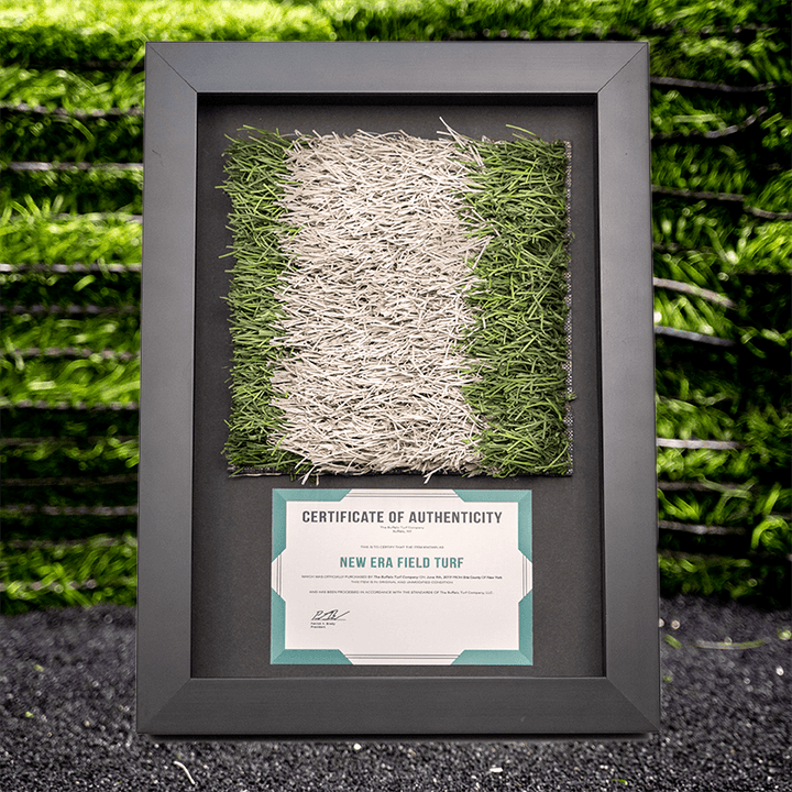 "8"" Yard Line - Shadow Box"